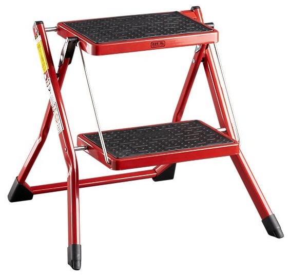 Mini Red Step Stool Modern Ladders And Step Stools