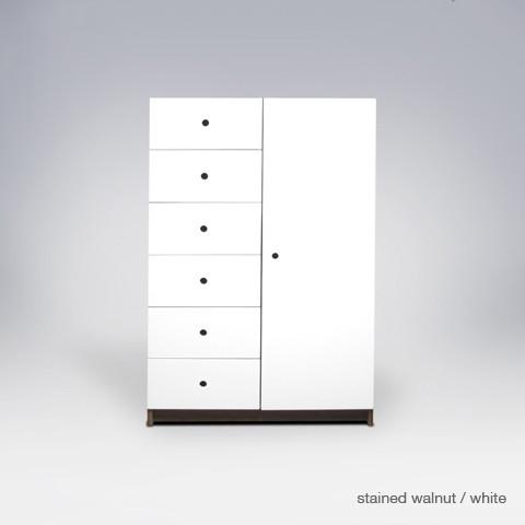 ducduc parker 6 drawer armoire modern