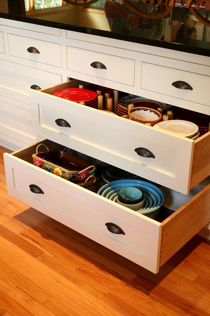 KITCHEN POTS & PANS DRAWERS CABINET - Kitchen Cabinetry - baltimore ...