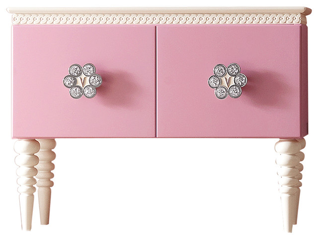 Lolita Pink Cabinet contemporary-buffets-and-sideboards