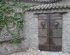 Design Project - Dream House - Shanghai China - Green Antiques asian-patio