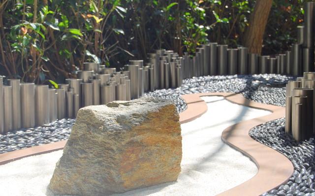 Zen Garden Contemporary Landscape san francisco by