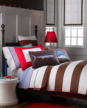 """""""Asher"""" Bed Linens traditional-bedding"""