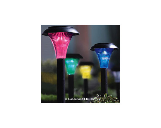Four-Color Solar Garden Lights -