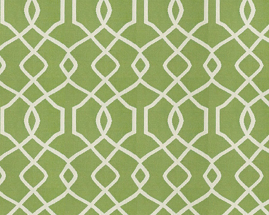 "Ballard Designs - Trellis Kiwi Sunbrella Fabric by the Yard - Content: 100% Sunbrella® Acrylic. Repeat: Railroaded fabric, 4.14"" Repeat. Care: Spot clean with mild soap. Width: 54"" wide. Sand and kiwi trellis woven in washable, easy-care Sunbrella acrylic.Content: 100% Sunbrella Acrylic. . . . Because fabrics are available in whole-yard increments only, please round your yardage up to the next whole number if your project calls for fractions of a yard. To order fabric for Ballard Customer's-Own-Material (COM) items, please refer to the order instructions provided for each product.Ballard offers free fabric swatches: $5.95 Shipping and Processing, ten swatch maximum. Sorry, cut fabric is non-returnable."