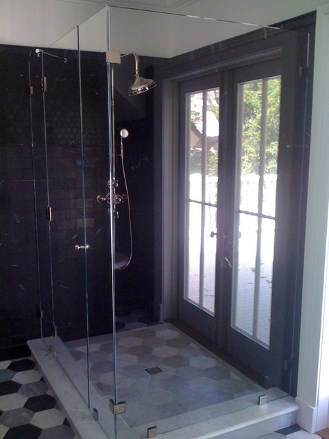 Glass Shower Enclosures traditional-showers