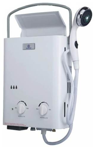 Eccotemp L5 Portable Tankless Water Heater and Shower fireplaces