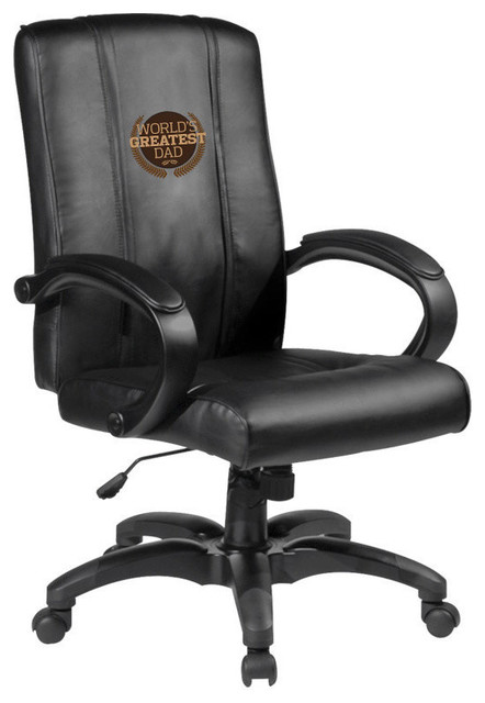 Worlds Greatest Dad Home Office Chair traditional-game-room-and-bar-furniture