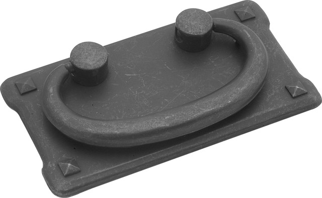 Old Mission Black Mist Antique Bail Cabinet Pull - Traditional - Cabinet And Drawer Handle Pulls ...