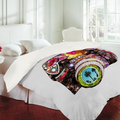DENY Designs Bianca Green Picture This Duvet Cover modern-duvet-covers