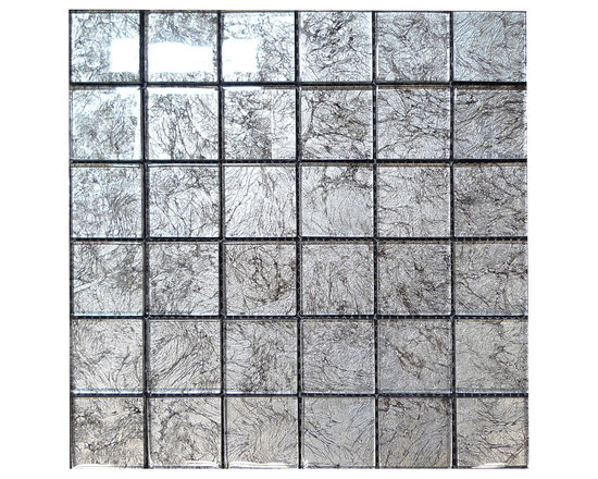W27 Taupe Glass Mosaic - Taupe Glass Mosaic
