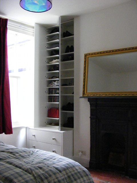 Chloe: Shoe storage and chest of drawers modern-bedroom