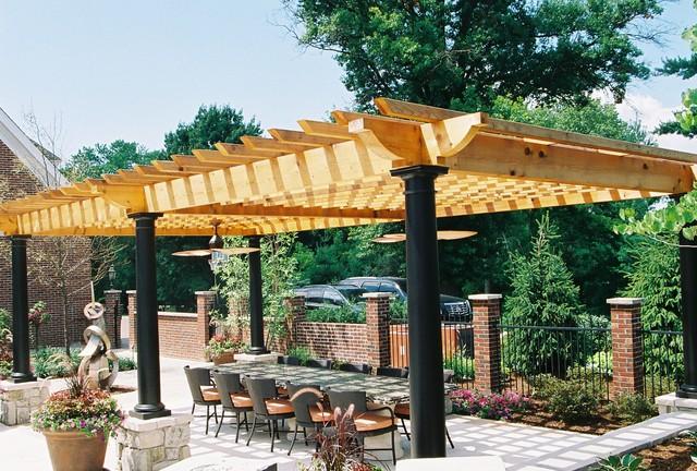 Pergola traditional-patio