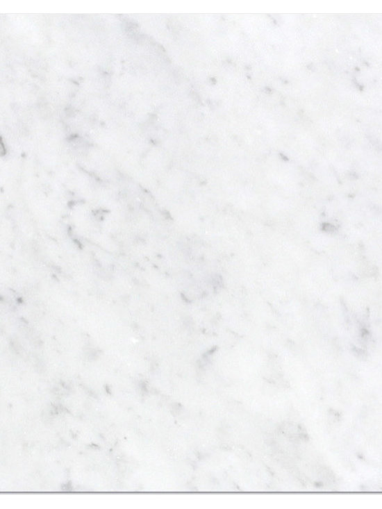 Marble Bianco Canal Grande Polished Tile - RICH BLENDS OF UMBER AND GREY SPECKLES BLANKET ACROSS A SOLID BACKDROP OF SOFT TAN. Visit Website for available sizing.