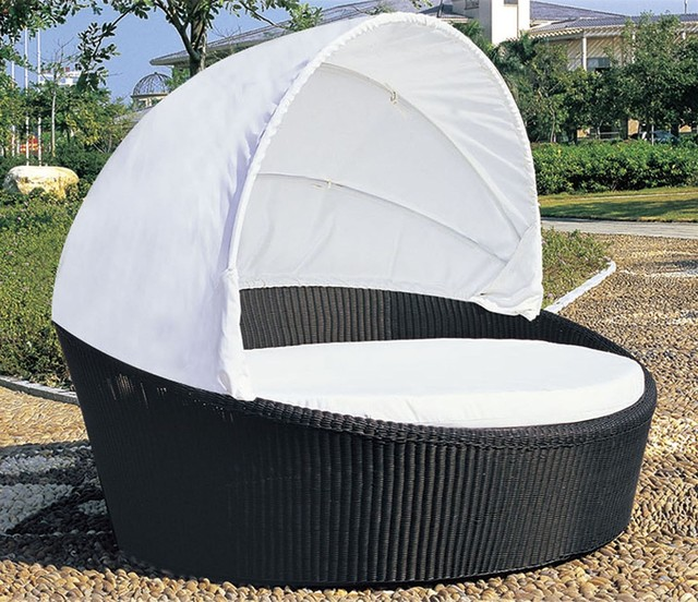 Tropea outdoor bed lounger contemporary outdoor chaise for Best chaise lounge outdoor