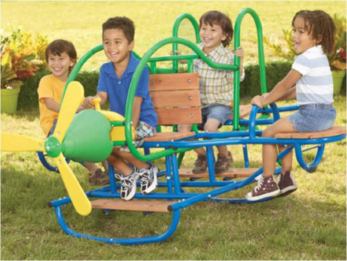 Airplane 4 Seat Teeter Totter Modern Living Room Chairs
