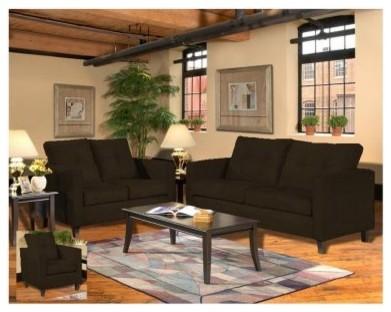 Chelsea Home Heather Living Room Set - Java modern-sofas