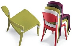 Fun Stackable Outdoor Chairs for Residential and Hospitality - Outdoor Lounge Chairs - by ...
