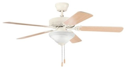 Kichler 339220ADC Sterling Manor Select 52 in. Indoor Ceiling Fan - Adobe Cream contemporary-ceiling-fans