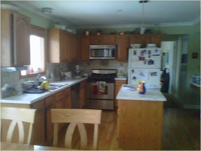 Late 39 80 39 S Built Home Small Kitchen Remodel