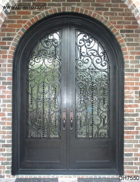 Iron Doors - Exterior traditional front doors