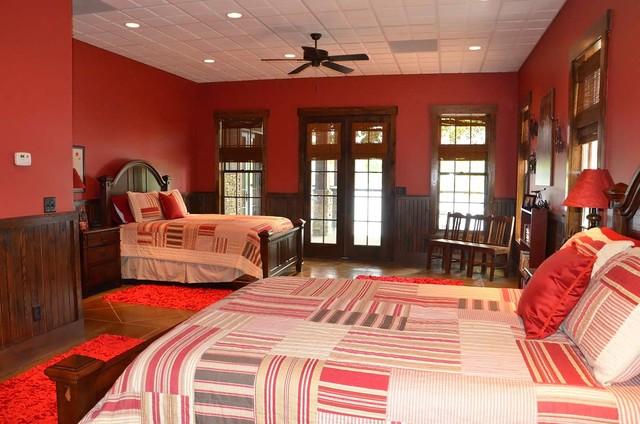 Appalachia Mountain Home House Plan traditional-bedroom