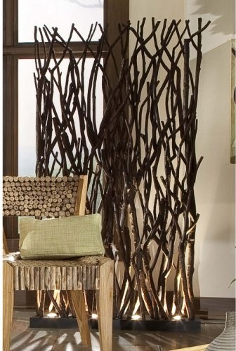 Groovystuff Woodlands Base Lit Room Divider contemporary-screens-and-room-dividers