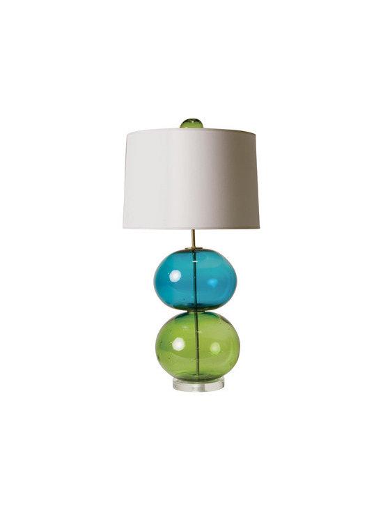 Frosty Glass Lamp -