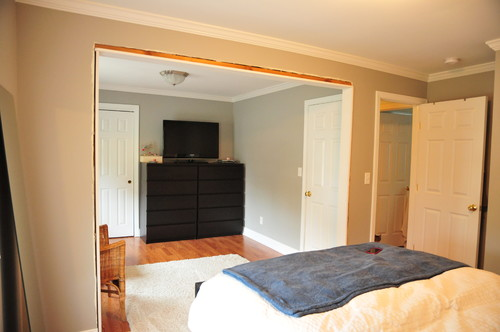 renovation help 2 bedrooms into 1