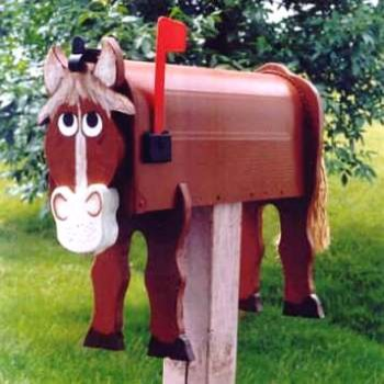Decorative Horse mailboxes - Modern - Mailboxes