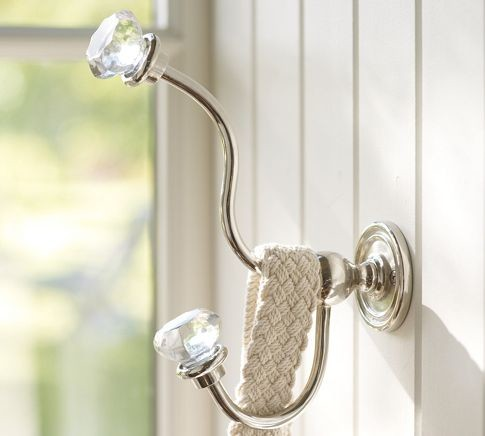 Classic Glass Hardware - Traditional - Wall Hooks - by Pottery Barn