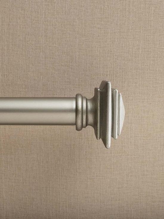 Westbury Pewter Adjustable Curtain Rod -