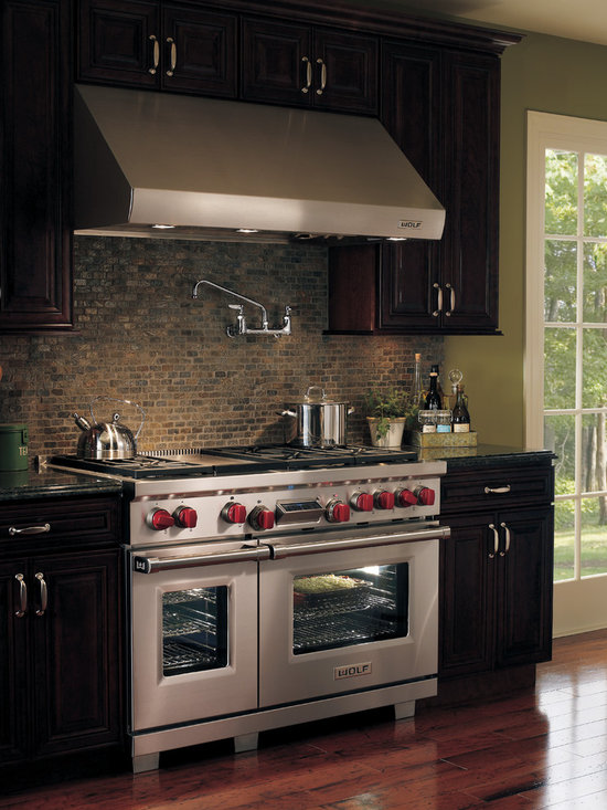 "Wolf 48"" Pro-style Dual-fuel Range, Classic Stainless 