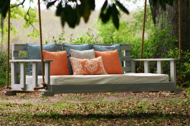 Noah Porch Swing - Contemporary - Outdoor Swingsets - by ...