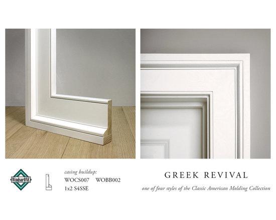 WindsorONE Greek Revival Casing -