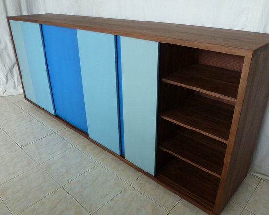 Custom Cabinet to client Design using Dulux brand paints -