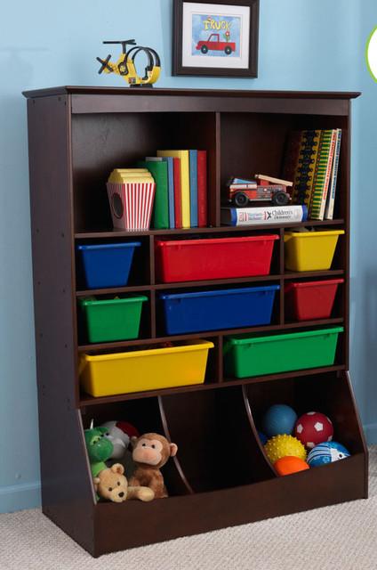 Toy storage unit pink