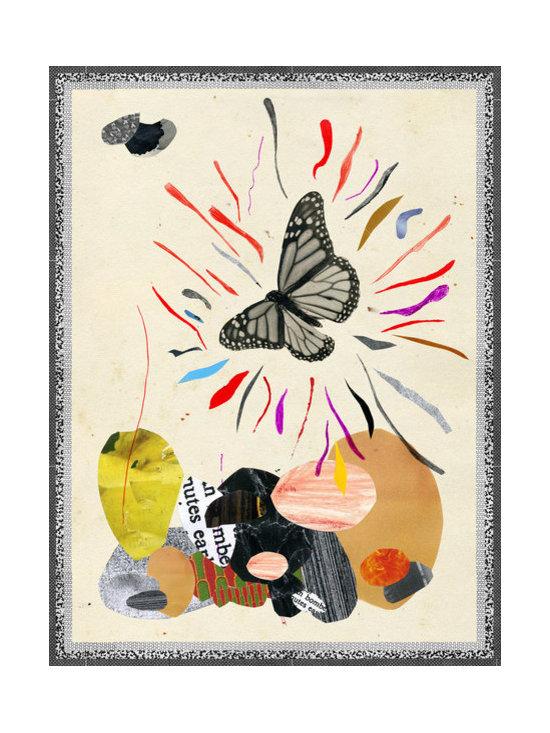 Butterfly Art Print by Crayon Dreamer -
