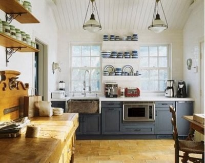 grey kitchen traditional