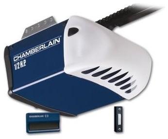 Chamberlain Garage Door. 1/2 HP Chain Drive Garage Door Opener HD200D ...