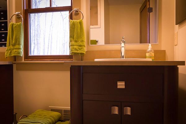 Transitional Master Bath traditional-bathroom