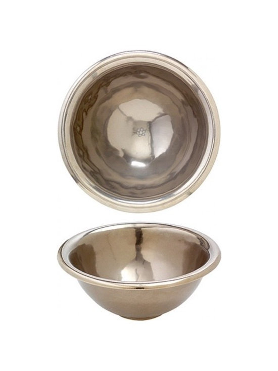 Bathroom sinks - This Rocky Mountain Hardware Mini Cirque Sink will compliment your home or business with its beautiful patina finish and a superior design. Backed with a 100% satisfaction guarantee, you will find that choosing Rocky Mountain Hardware for your project is a fine decision.