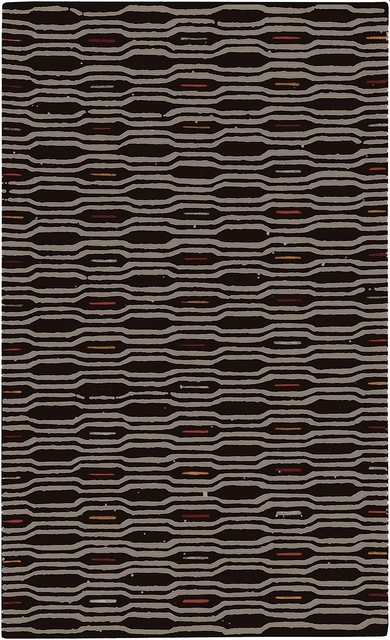 Transitional Mamba 8'x11' Rectangle Brindle, Bone Area Rug transitional-rugs