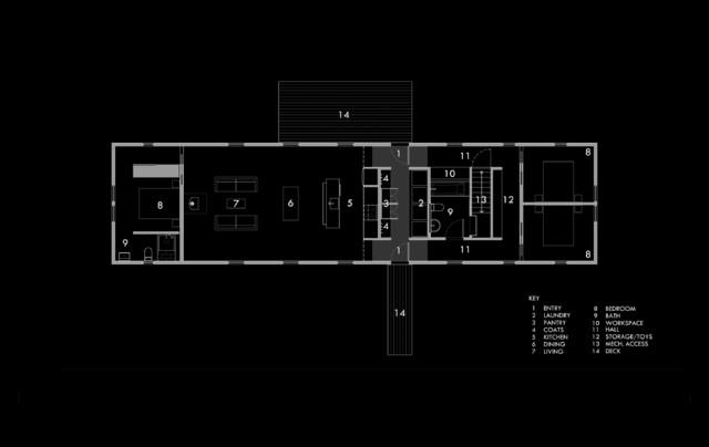 Portfolio Modern Floor Plan Portland Maine By Eric