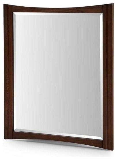 "KA Mirror - 30"" Cherry Cola contemporary-bathroom-mirrors"