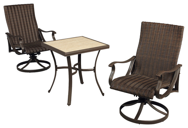 pembrey 3 piece patio bistro set eclectic patio furniture and outdoor