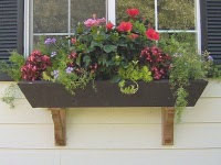 Custom Window Flower Box And Corbels By perfectpergola traditional-outdoor-pots-and-planters