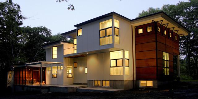 Modern exterior modern exterior boston by light for In home design boston