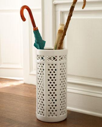 Porcelain Umbrella Stand traditional-coatracks-and-umbrella-stands