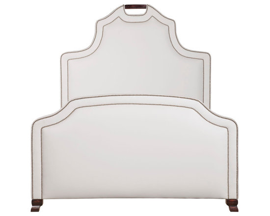 Grace Bed - 72 in tall; add approx 6 in to the width of mattress